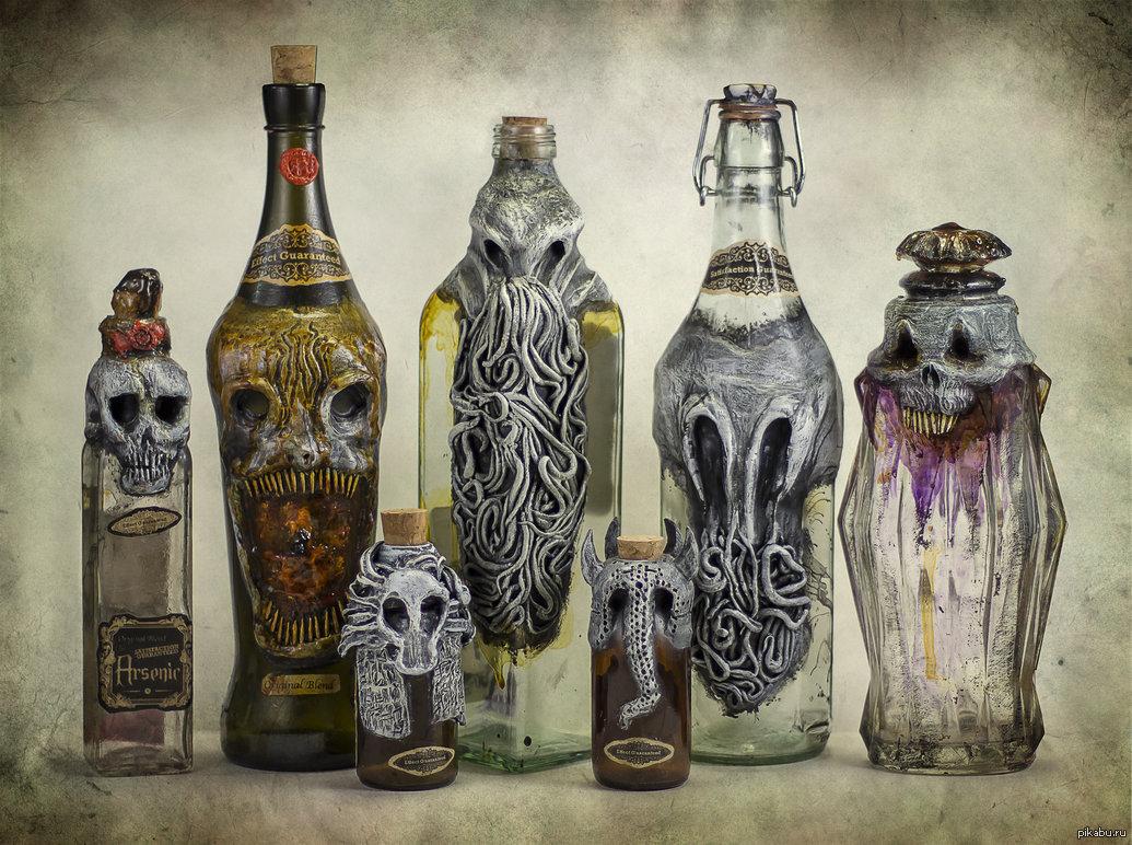 картинки необычные бутылки