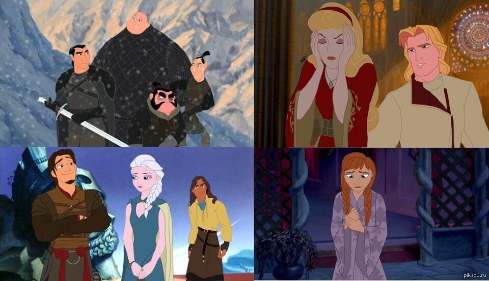 Все диснеевские герои связаны между собой