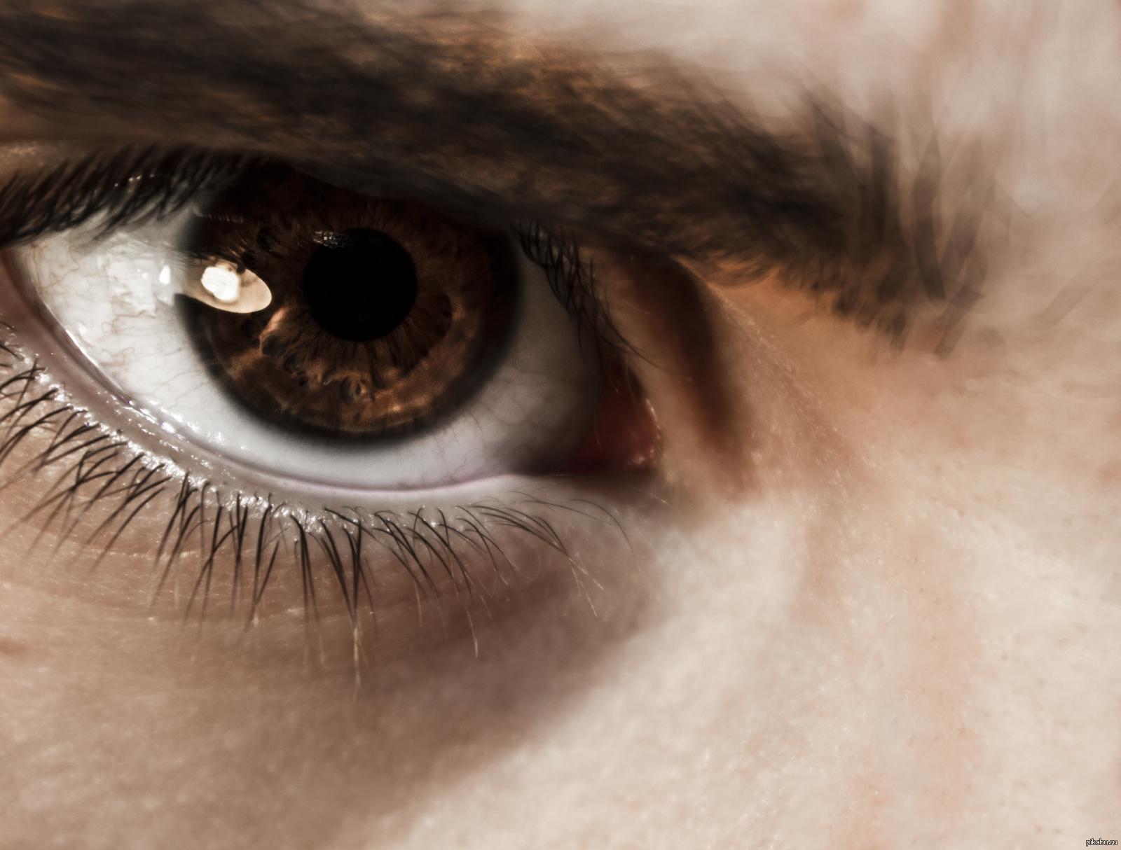 как на айфоне красиво сфотографировать глаз панели