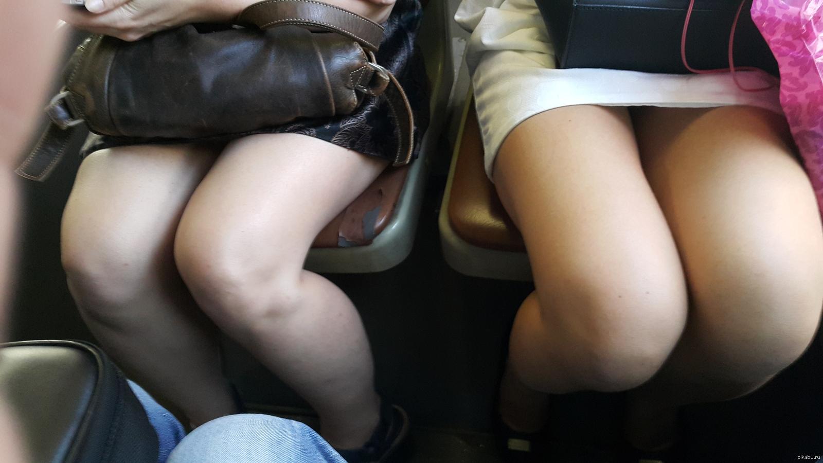 Девки в автобусе