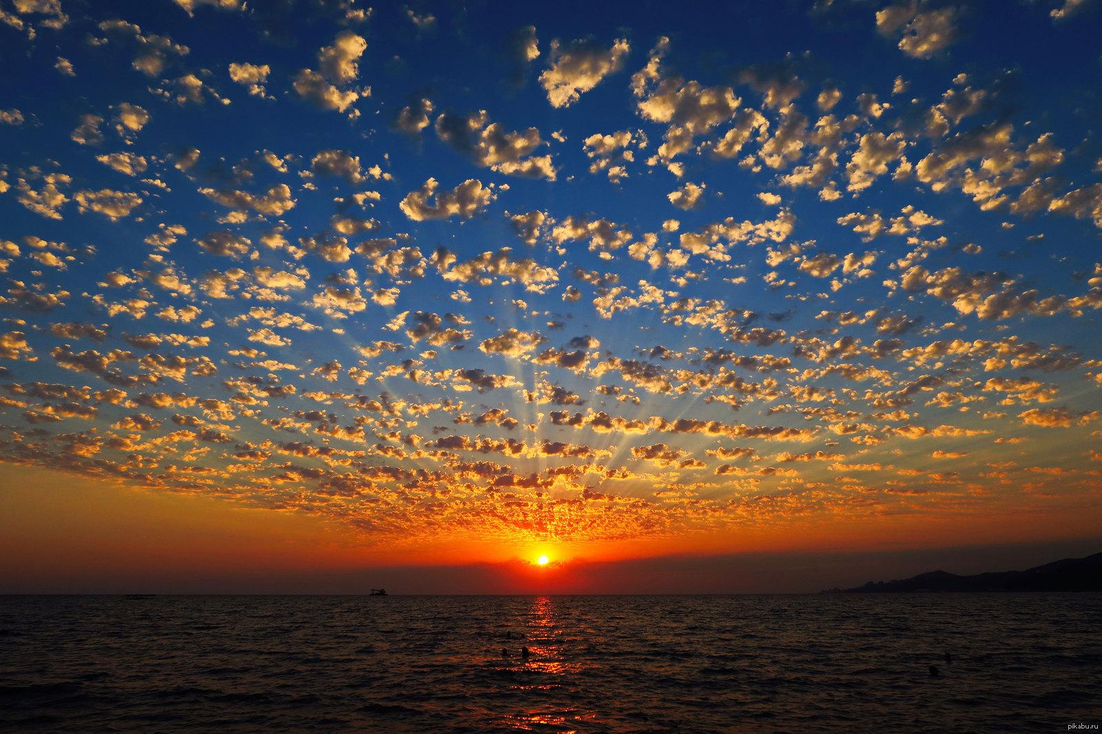 Картинка на закате