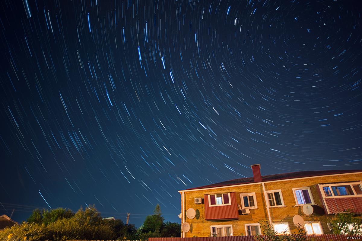 необычные фото звездного неба грудина плоская
