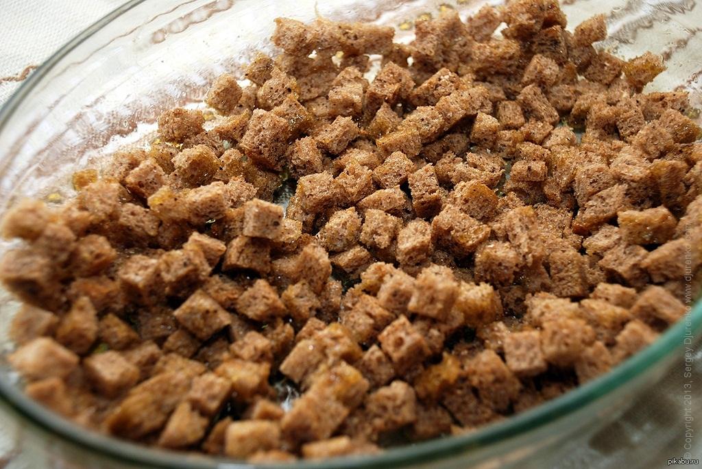 Как приготовить вкусные сухарики в домашних условиях
