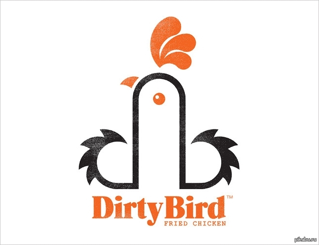 cc8272248ab Логотип копании Dirty Bird Fried Chicken