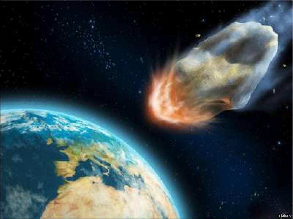 nasa comet collision - HD1800×1350