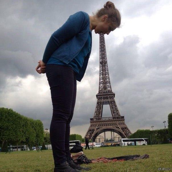 Эйфелева башня картинки прикольные