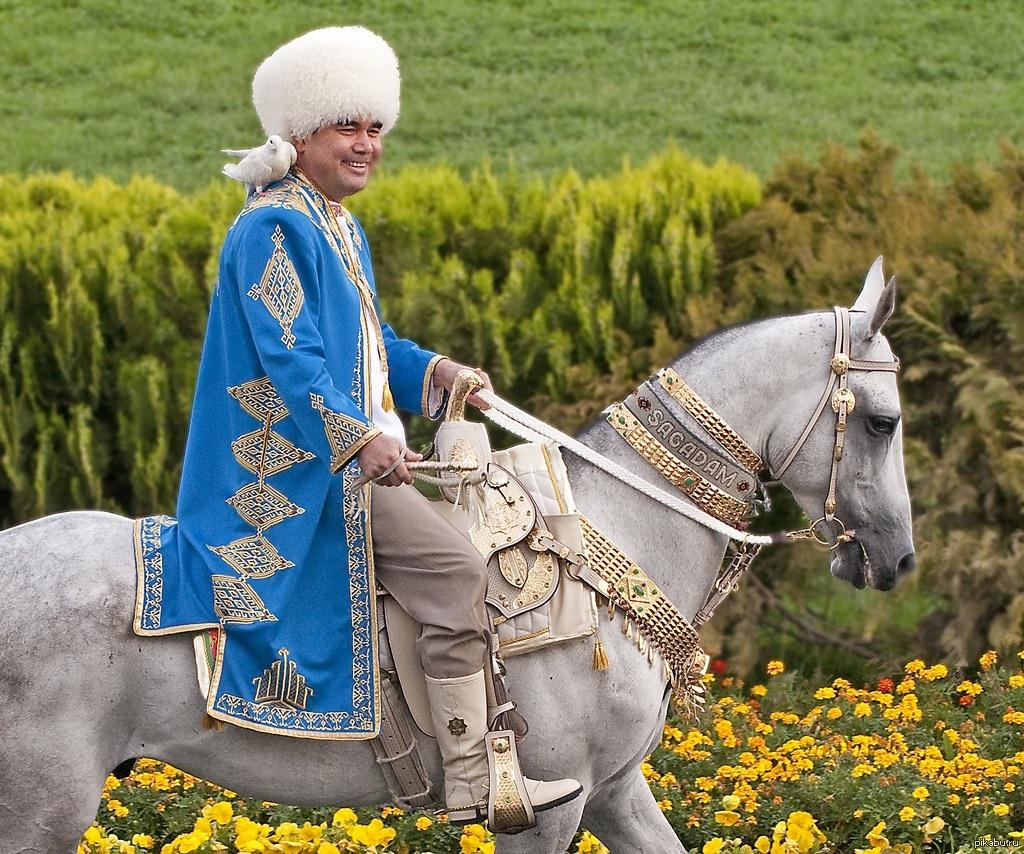 "Image result for бердымухамедов на коне"""