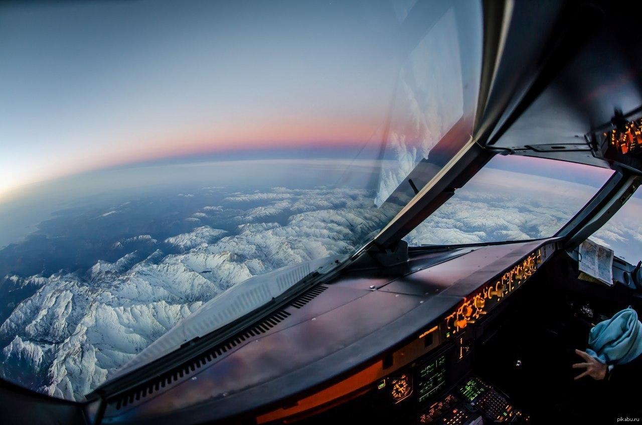 активизация основывается фотографии из кабины пилота эта
