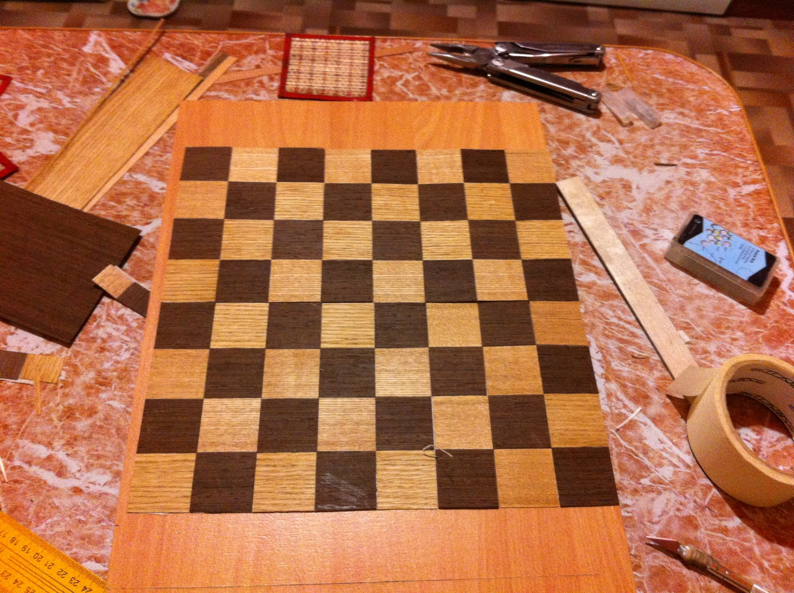 Сделай сам своими руками шахматы