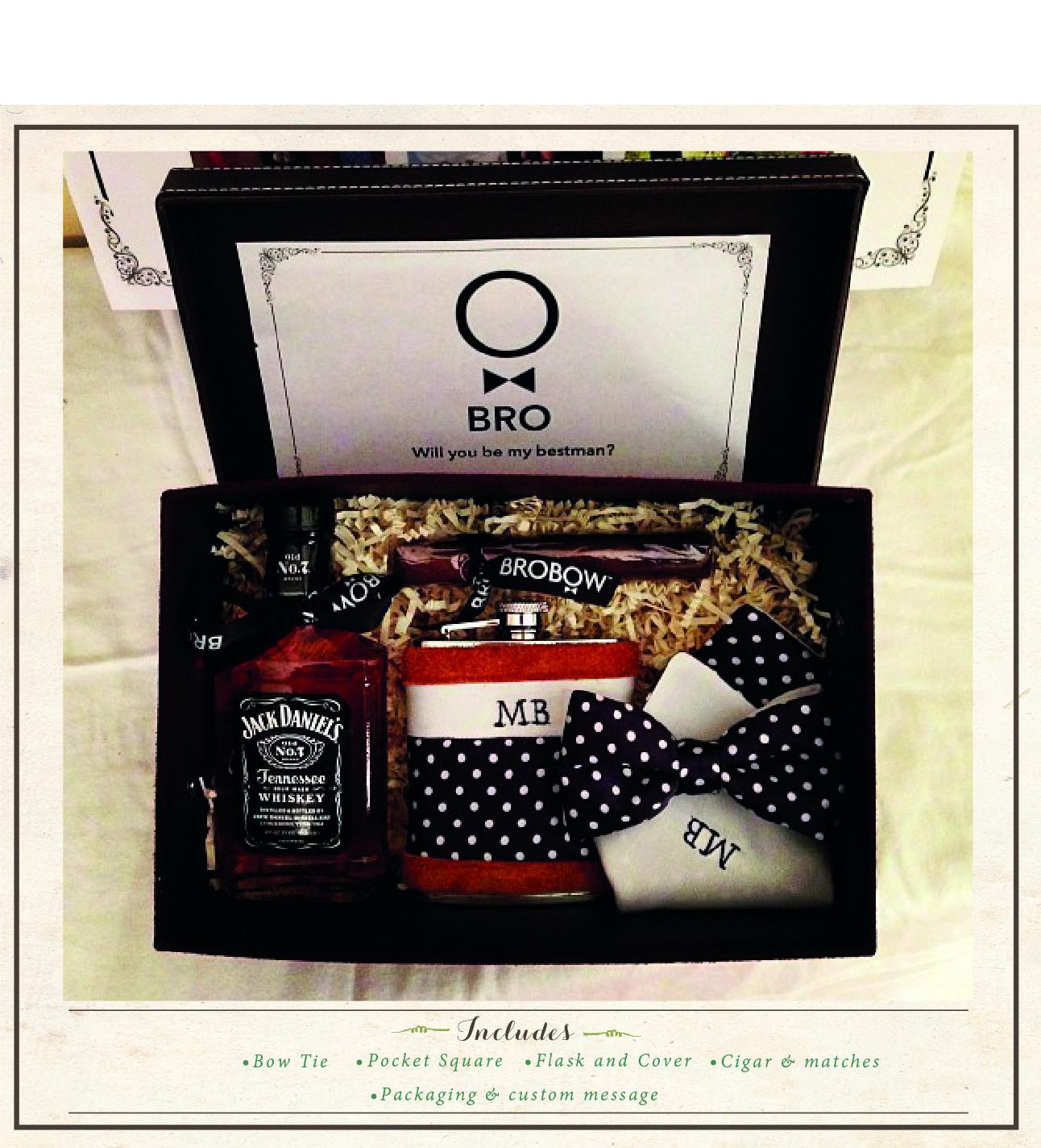 Коробка с подарками для мужчины