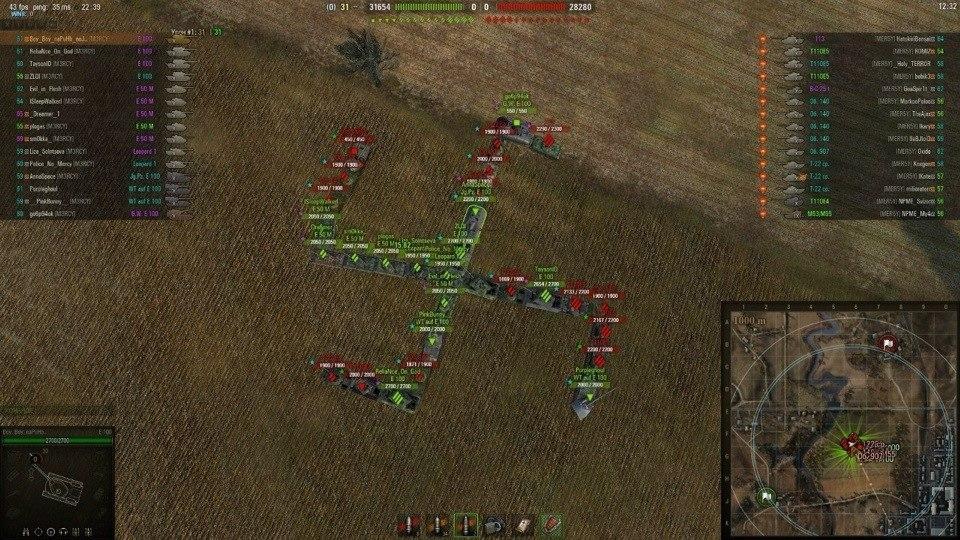 Забанили в world of tanks за уничтожение союзников что делать подарок за сданную макулатуру