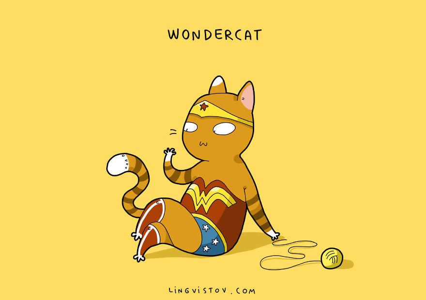 Три кота супергерои