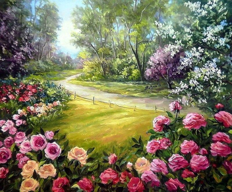 летние красивые пейзажи фото