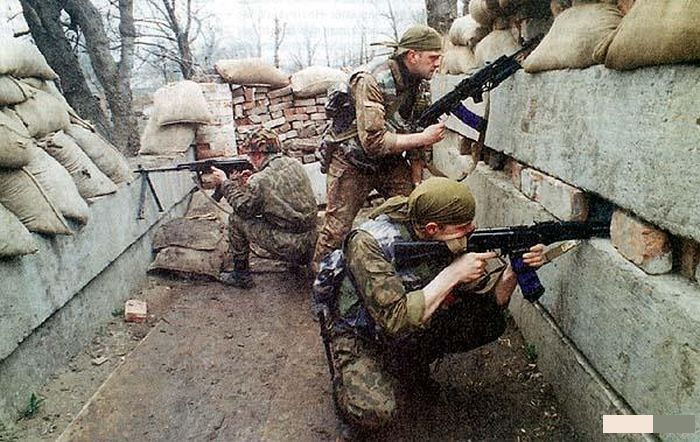 чечня фото война