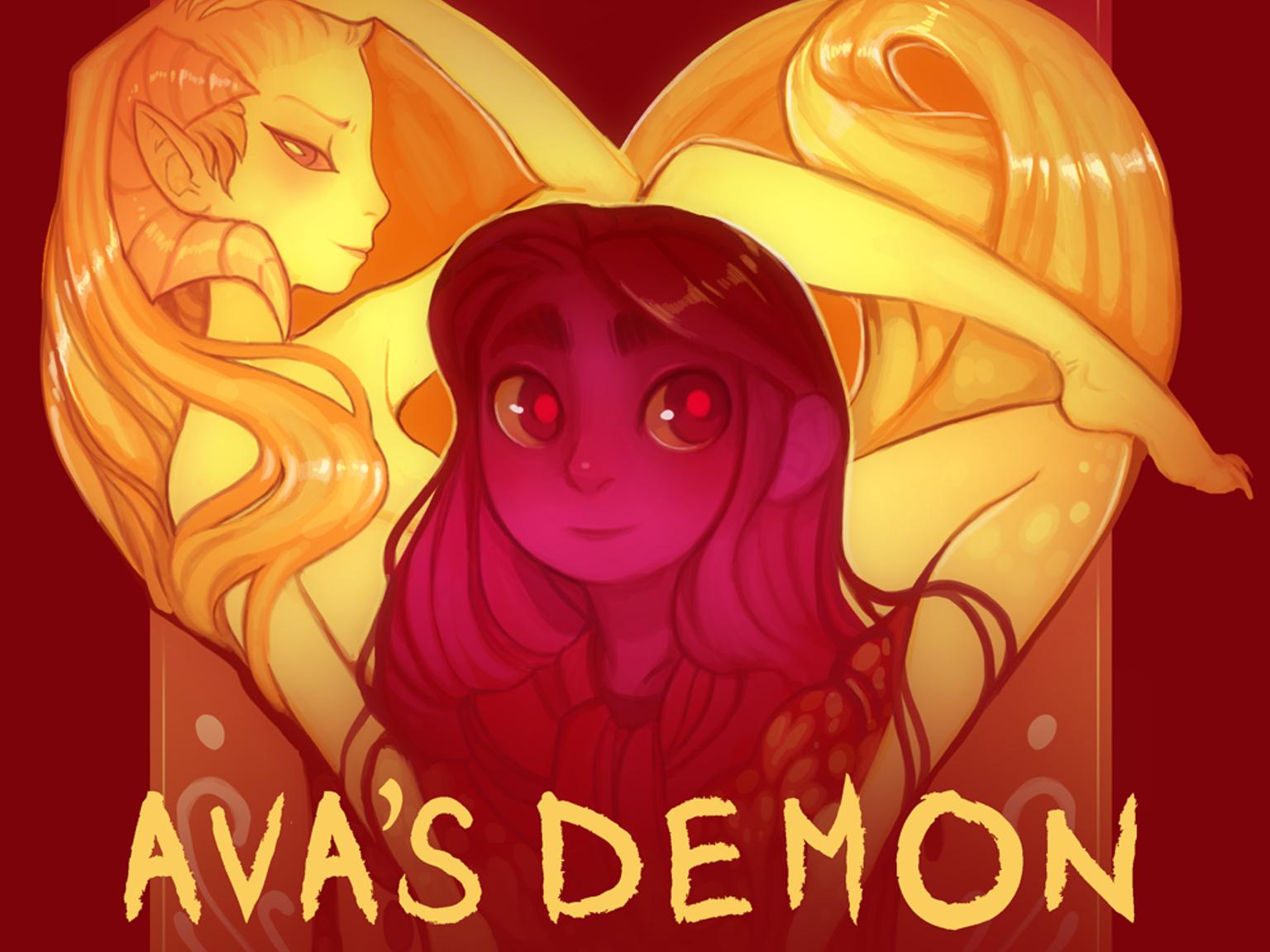 Комикс Ава и её Демон Ava's Demon на русском читать онлайн на сайте