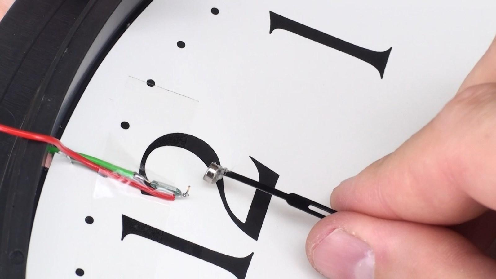 Как сделать стрелки для часов своими руками фото 563