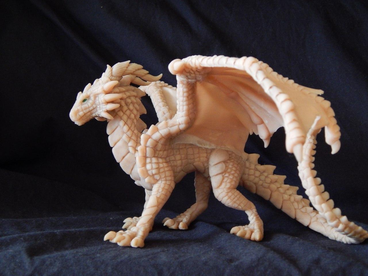 Своими руками дракон глина