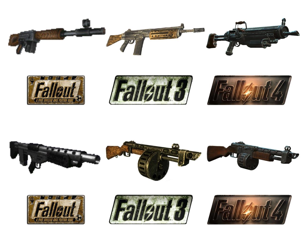 Fallout 2 моды на Оружие