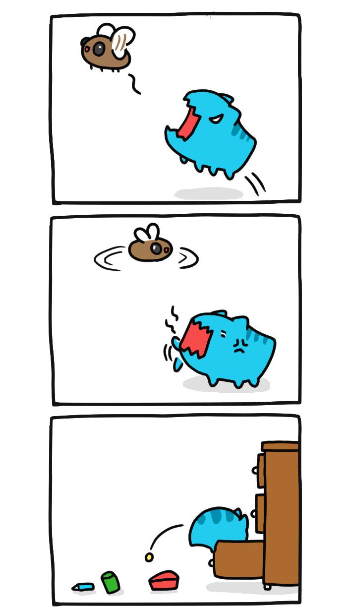 Жук против кота