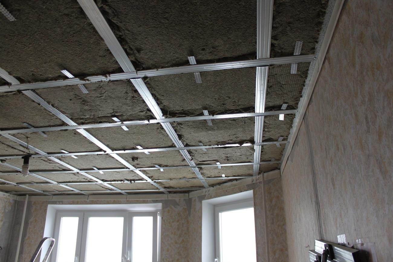 Смотреть Шумоизоляция потолка в квартире видео