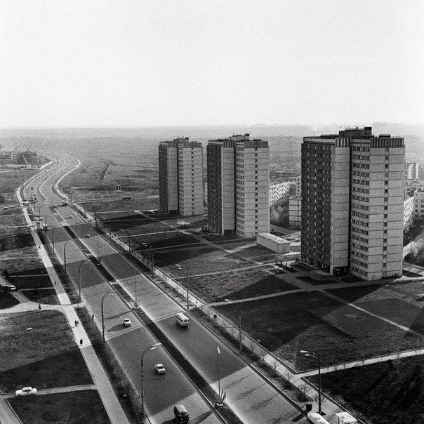 Проспект Вернадского, Москва, 1973 год. 163dd5f937b