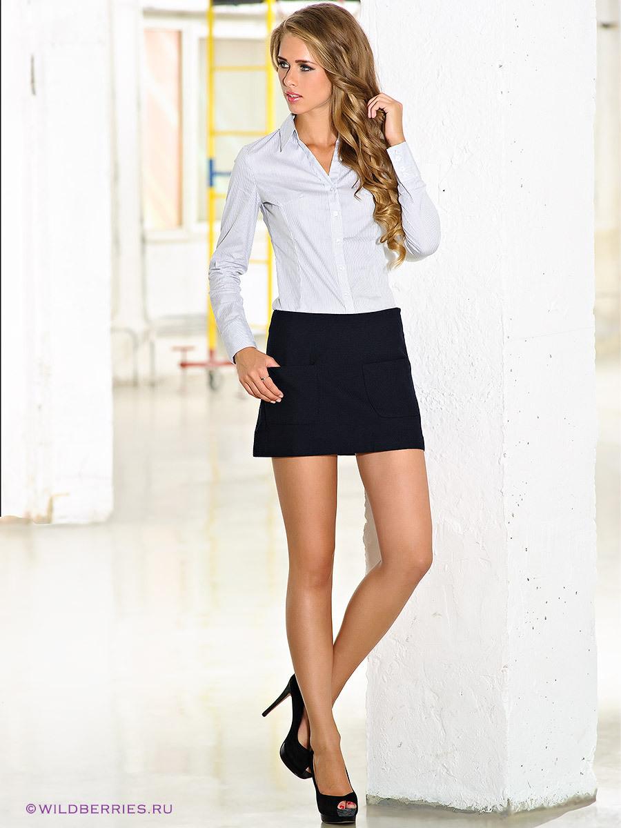 мини юбка девушка