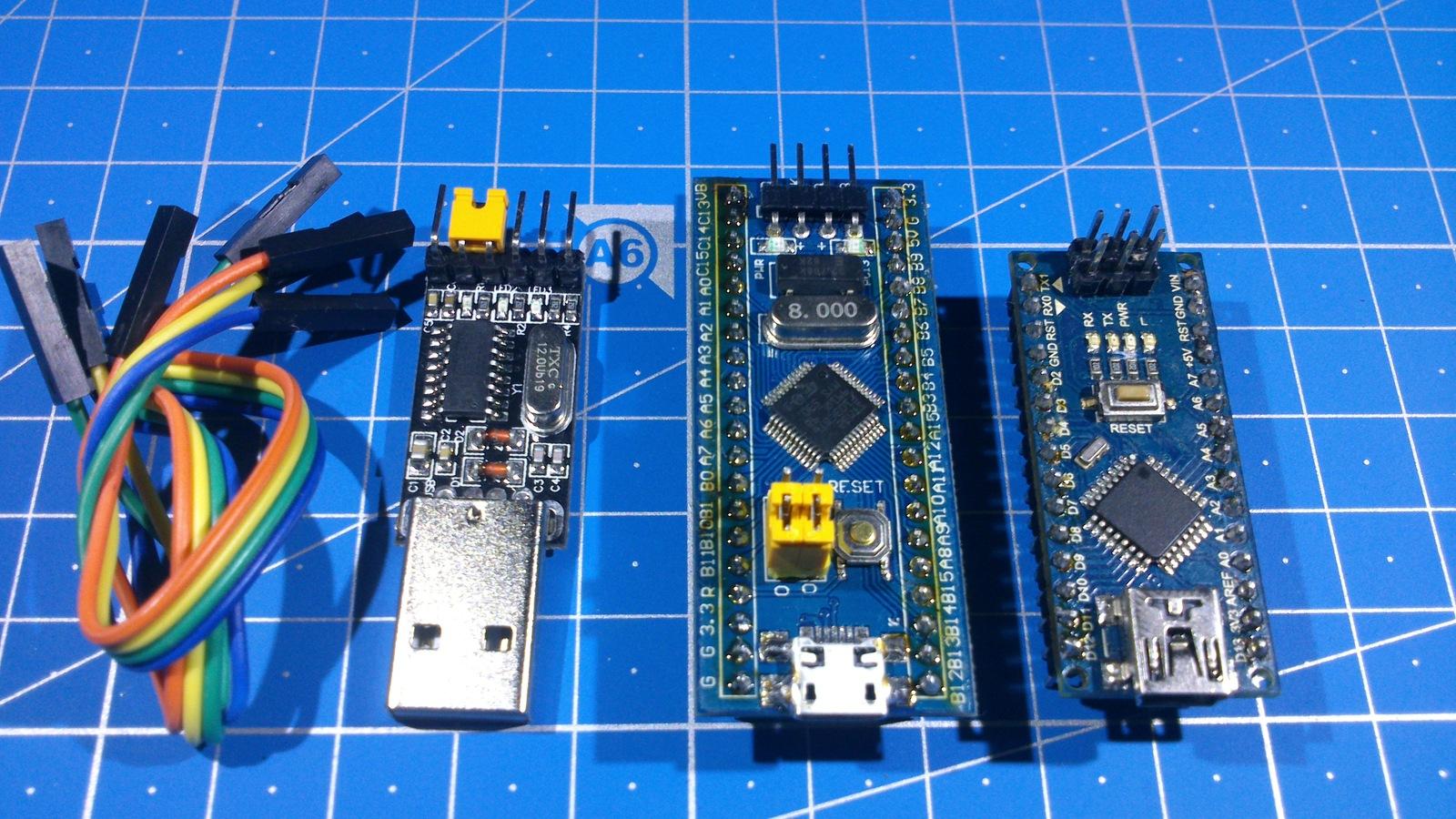 Недорогая STM32 плата + Arduino IDE