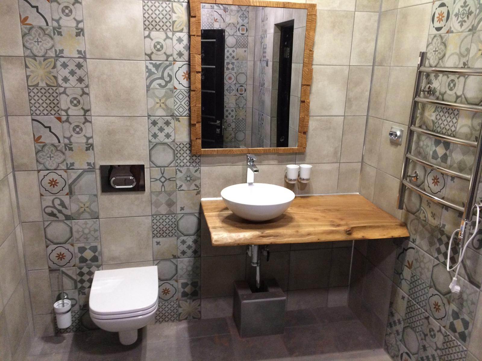 Зеркало в ванную с полками своими руками фото 90