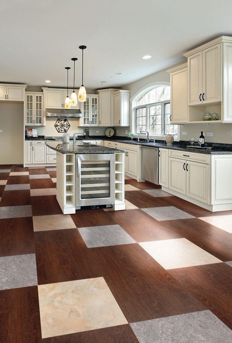 плитка пвх для кухни