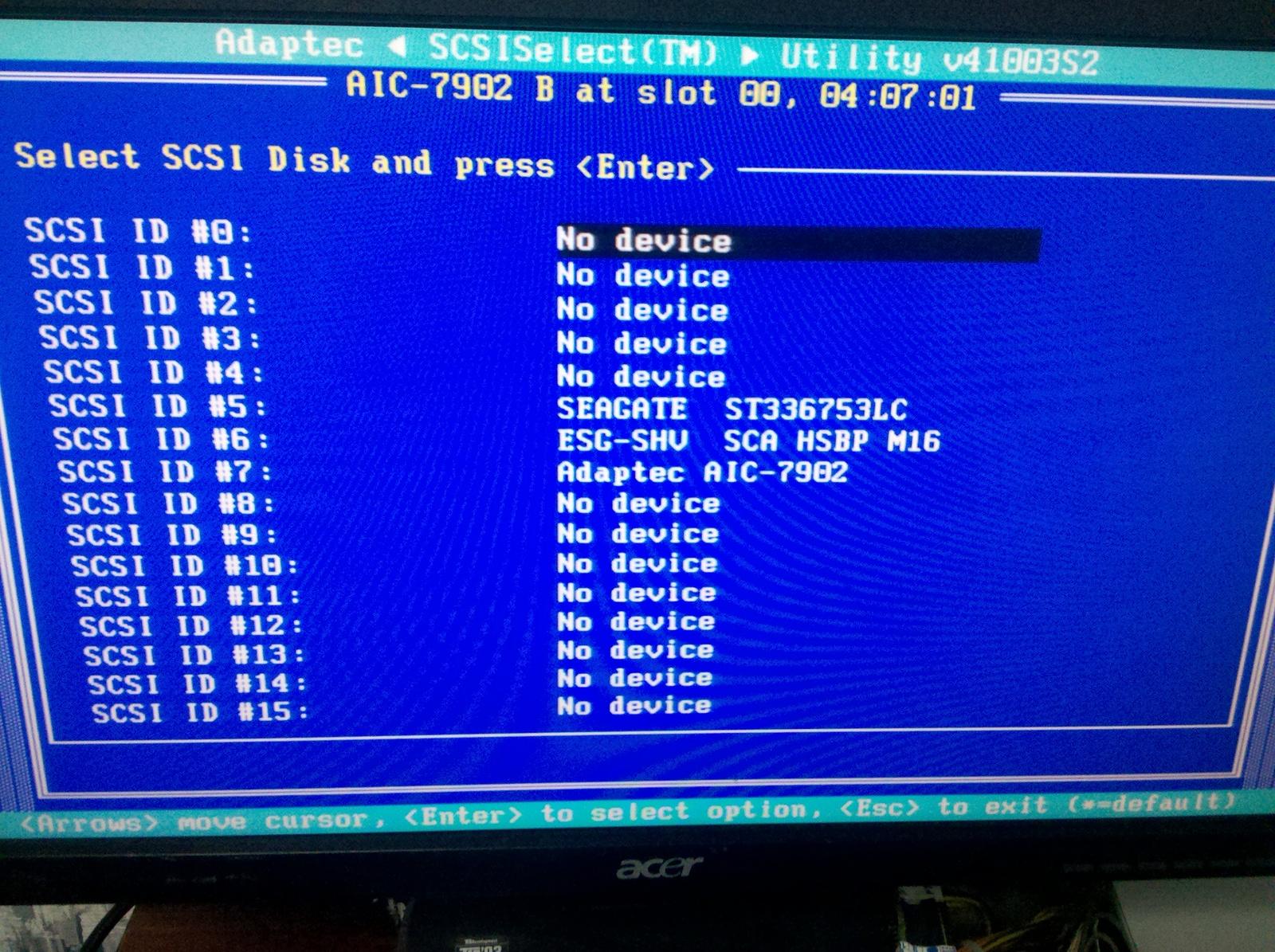 Adaptec AIC Ultra320 SCSI Drivers Download