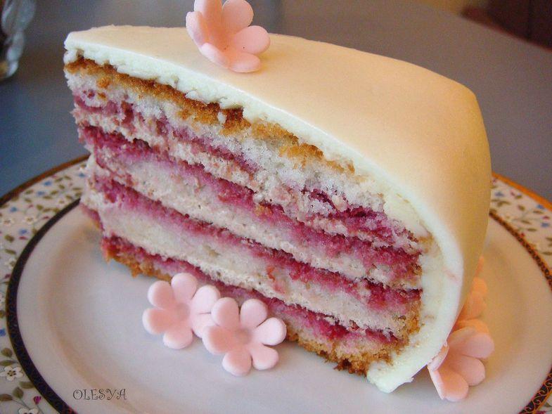 фото мастика торт
