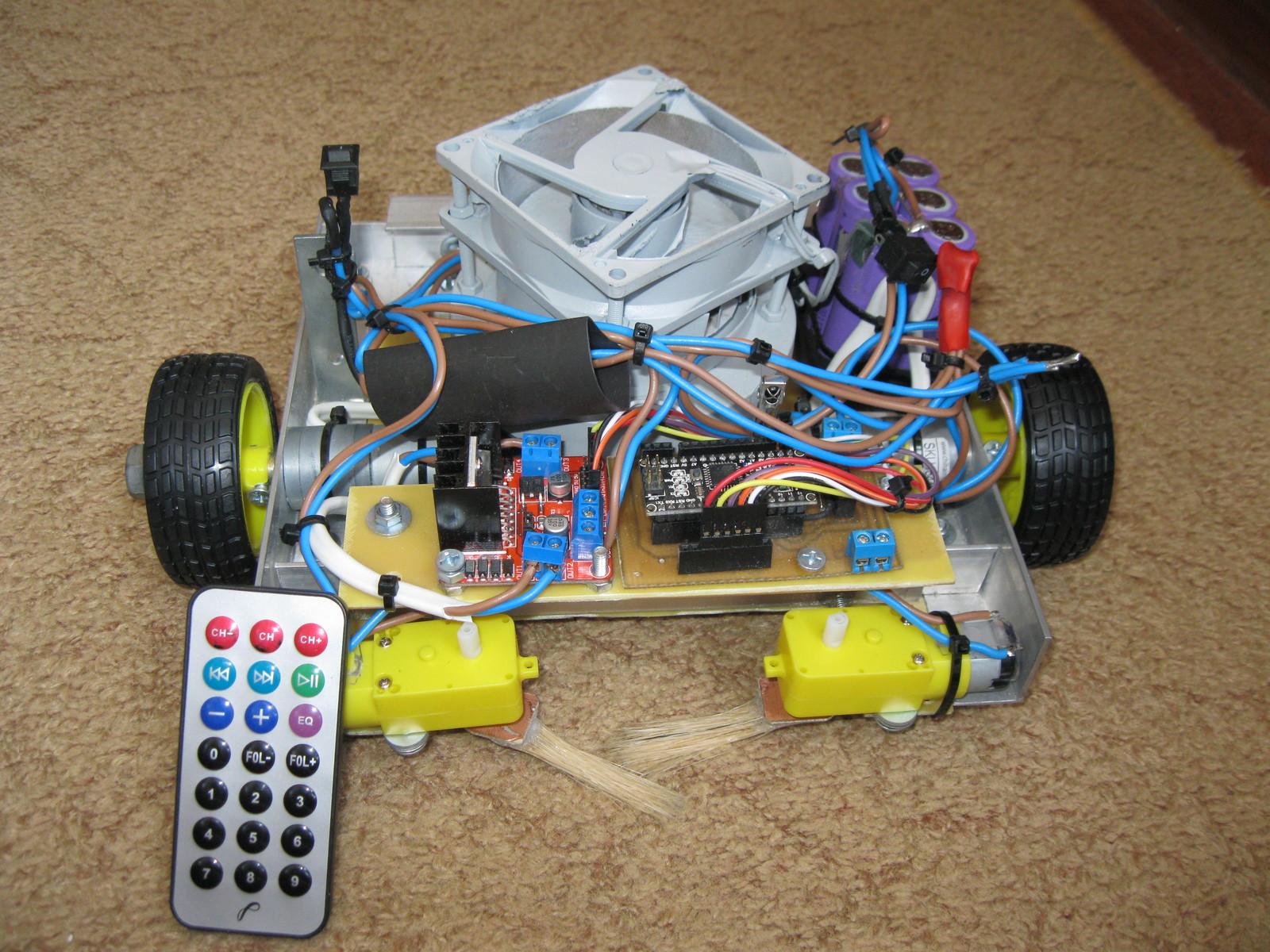 Робот пылесос из ардуино своими руками 783