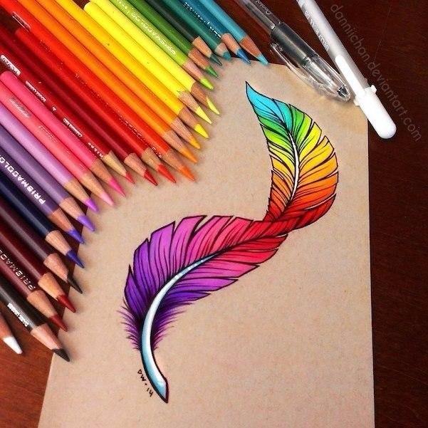 цветные картинки рисунки