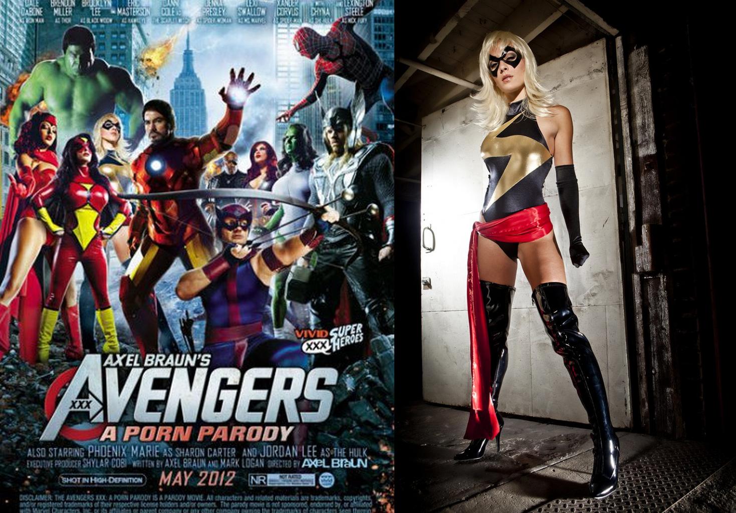 Смотреть порно породию про супер героев