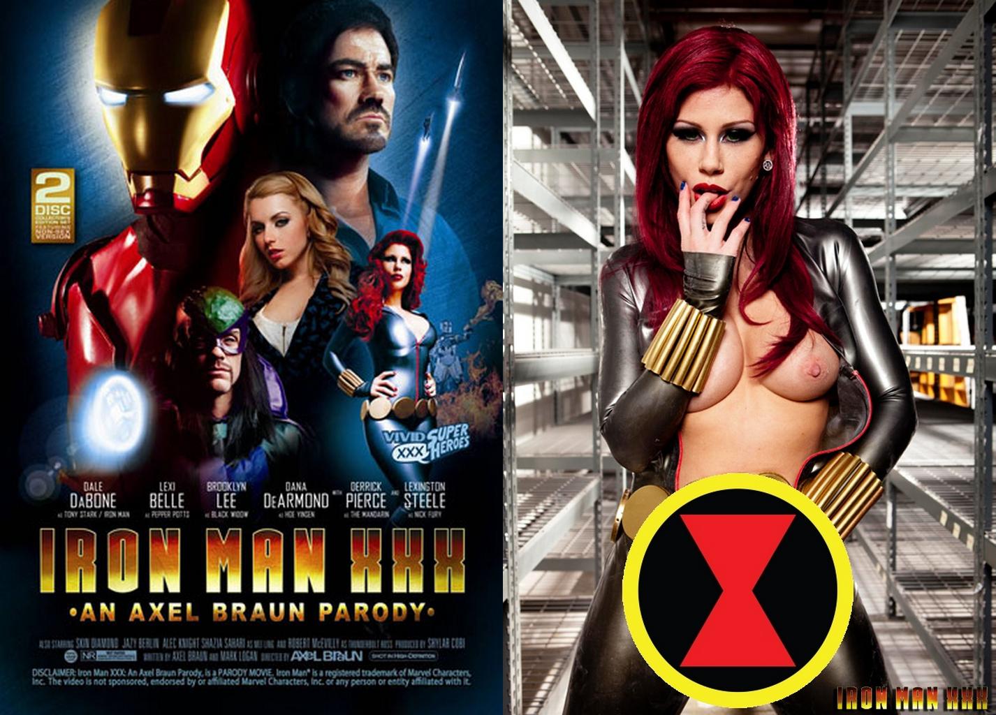 Порно фильмы пародии на супергероев