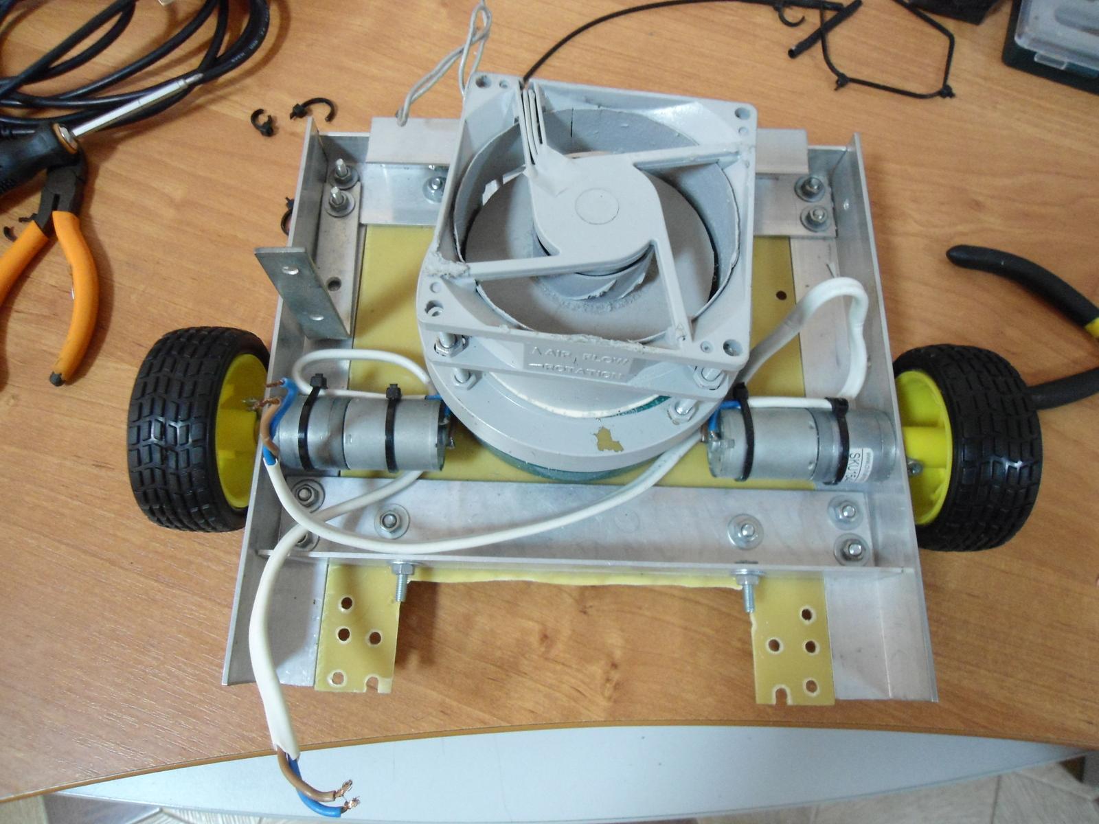 Робот пылесос из ардуино своими руками 240
