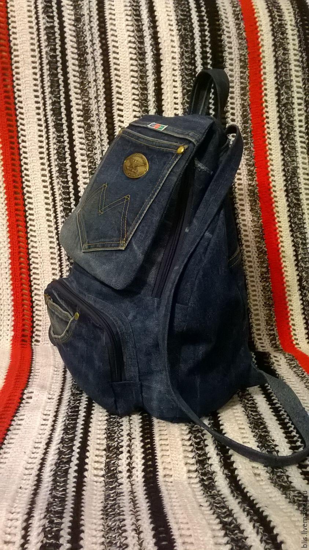 01567e42698c Хочу сумку джинсовую сделать. Или рюкзак. Помогите определиться! Джинсовая  сумка, Джинсовый рюкзак .