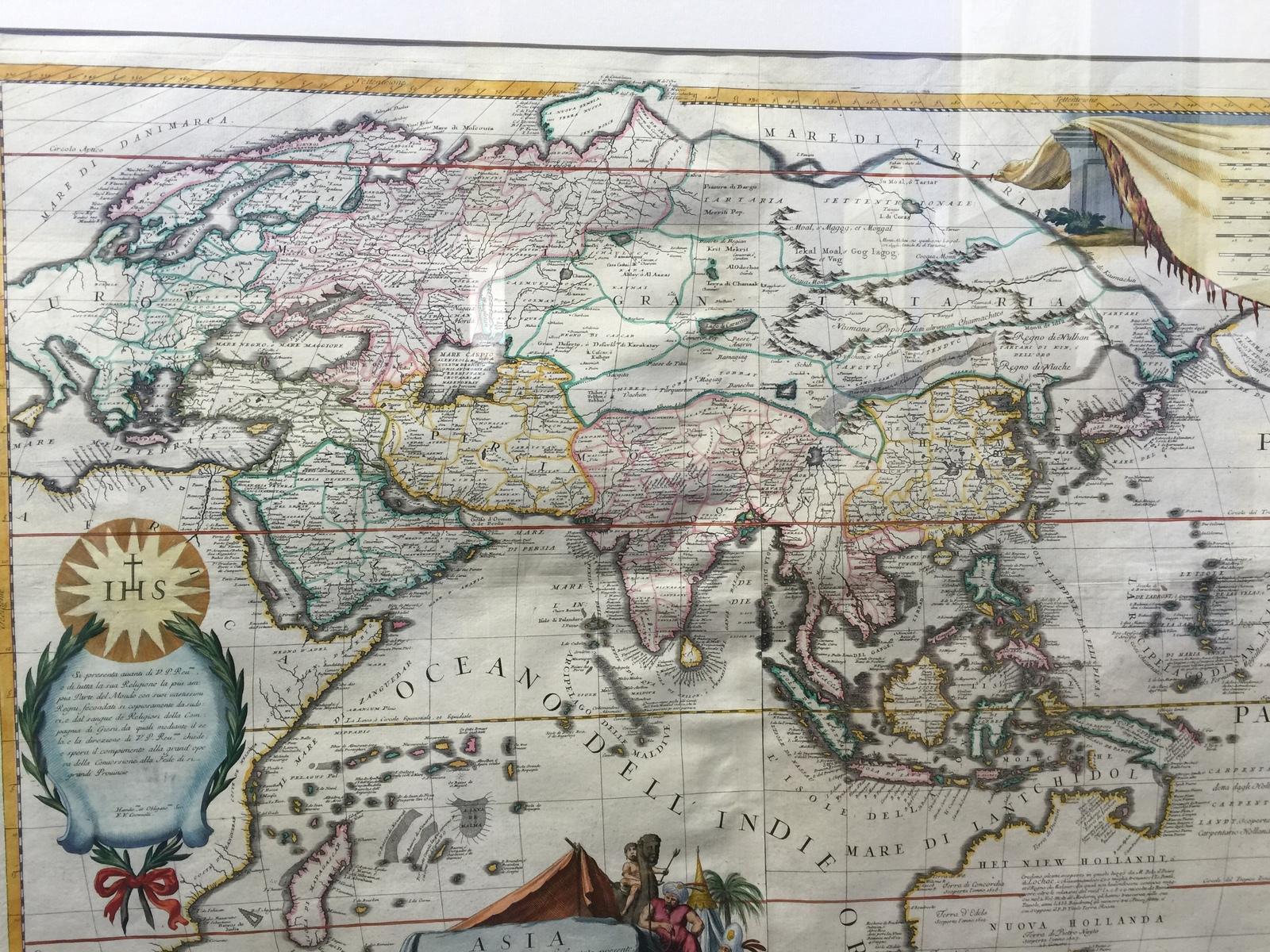 Карта 1690 года... карты, Московия, 1690 год
