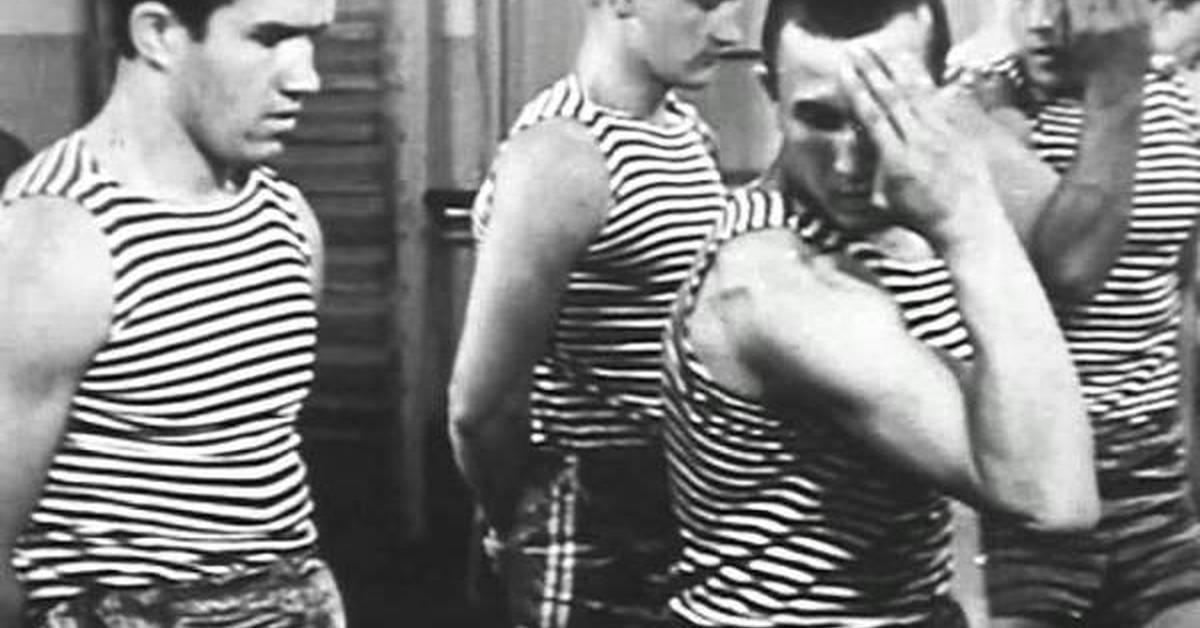 Физическая подготовка десантника. 1973